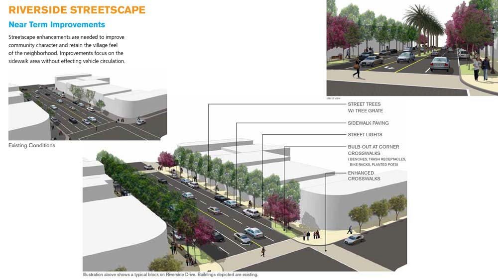 Riverside Drive Streetscape Plan / Phases 1- 2